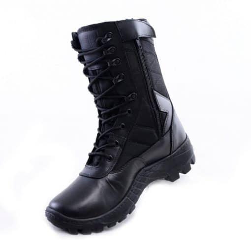 botas militares negras colombianas