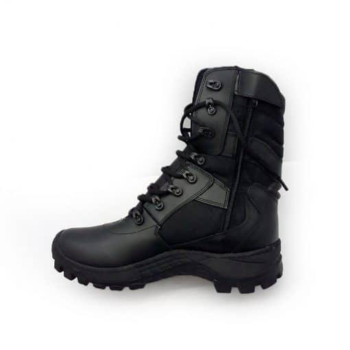 botas militares para hombre parte interna
