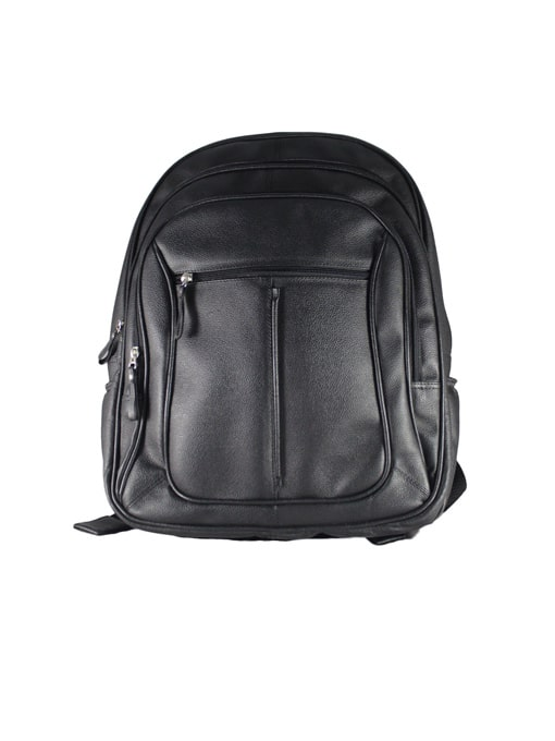 Morral de Cuero GD Color Negro