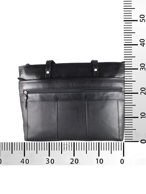 Medidas Bolso de cuero negro