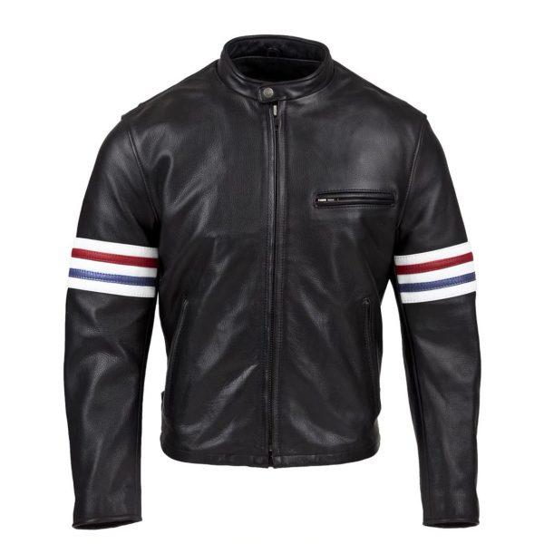 Chaqueta Sport Cuero Negro