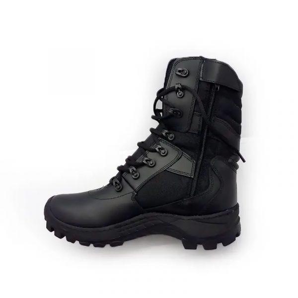 botas militares para hombre parte interna - Cueros Hazard